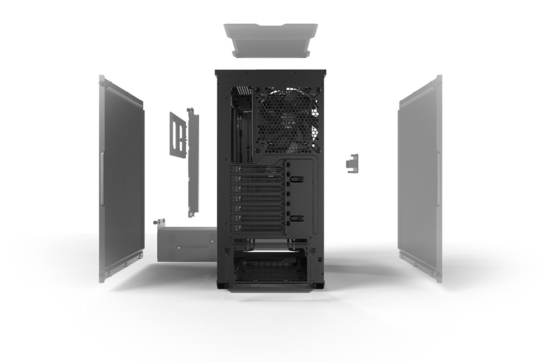 PURE BASE 500 | BLACK silent essential PC cases from be quiet!