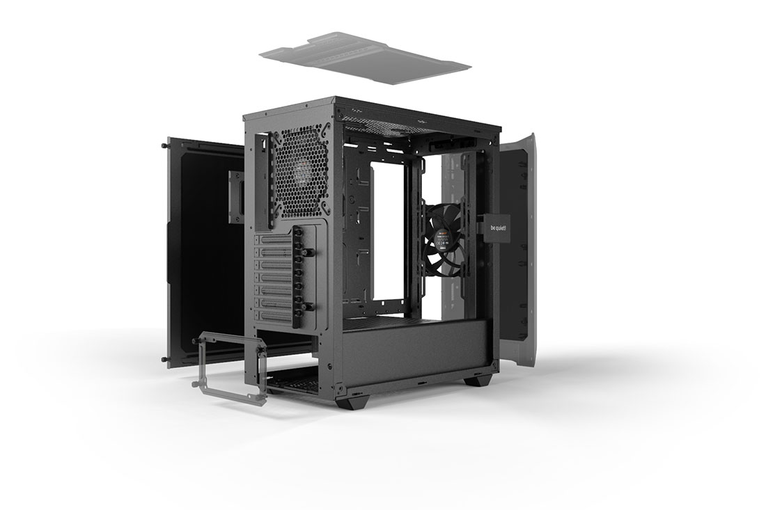 PURE BASE 500 | WINDOW BLACK silent essential PC cases from