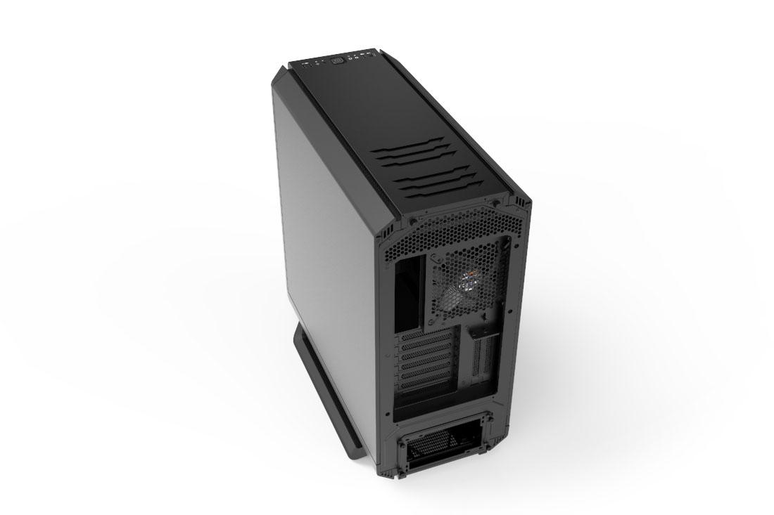 SILENT BASE 801 | BLACK silent premium PC cases from be quiet!