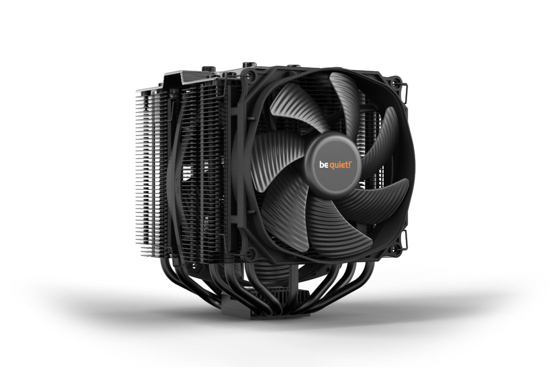 af91c52a0952cd DARK ROCK PRO 4 silent high-end Air coolers from be quiet!